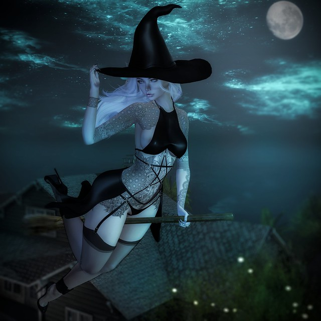 LOOK # 1893 A witch in Holanbra's sky