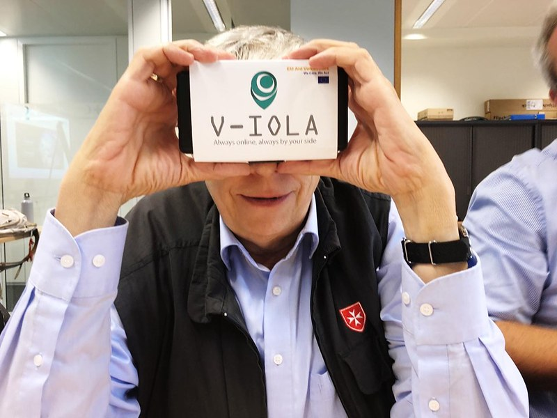 V-iola Project    Brussels 2019