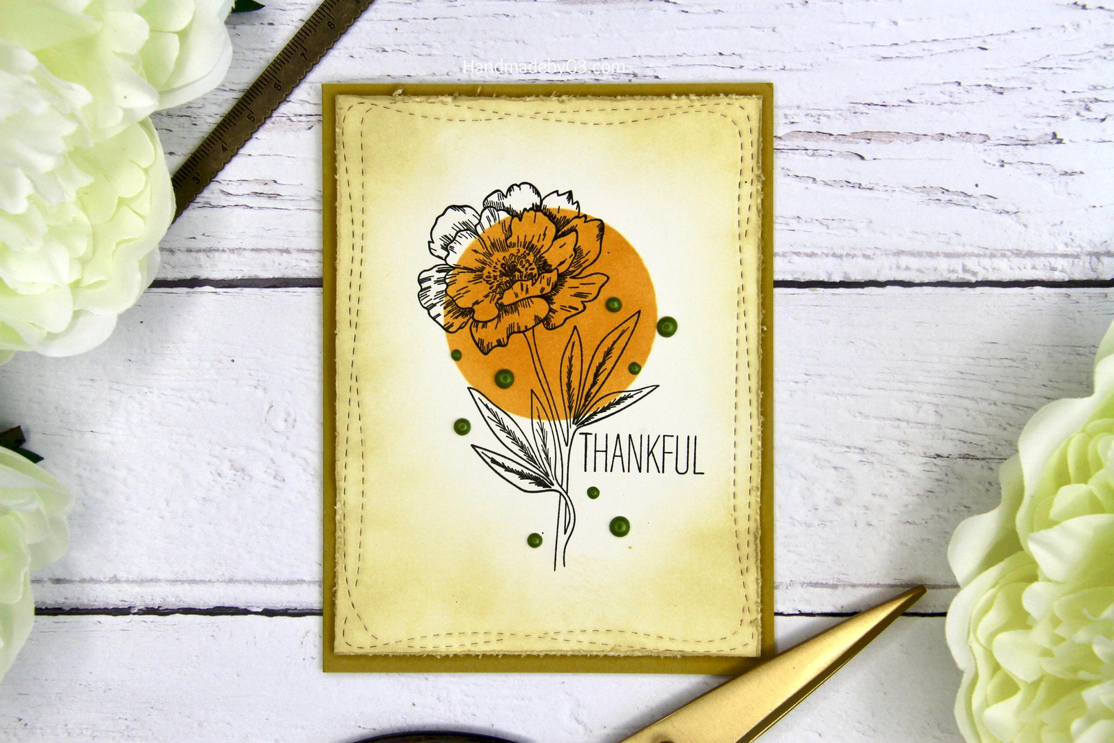Thankful card set card #1