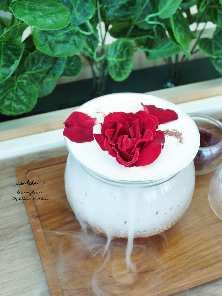 台北東區景觀餐廳推薦成真咖啡超夢幻玫瑰咖啡ig打卡必拍美食下午茶 (3)