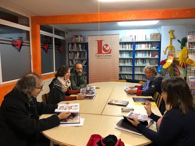 Club Lecturas Debuxadas, 15/10/2019