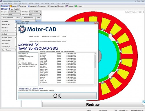 Design with Motor-CAD v12.1.19 full license