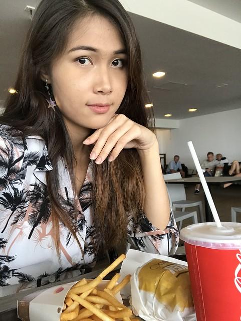 BurgerKing at the Maldive Airport
