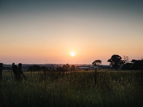 sky landscape sunset schofields sydney newsouthwales australia appleiphone11pro telephoto newsouthwales20192020bushfires