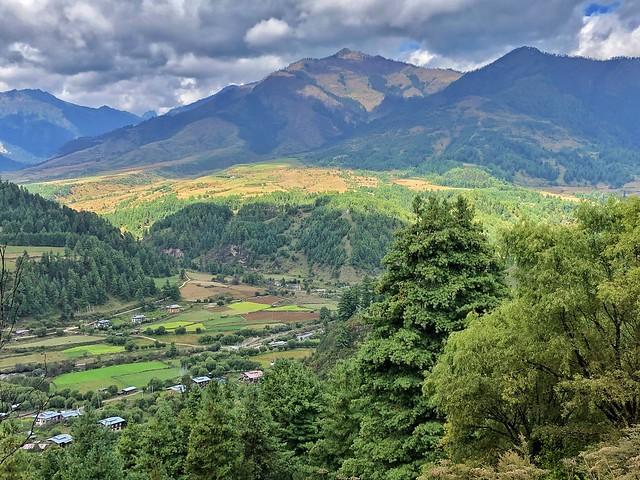 Valle de Tang, uno de los mejores paisajes de Bután