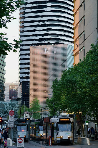 Swanston Street with William Barak Building, Melbourne | by Joe Lewit