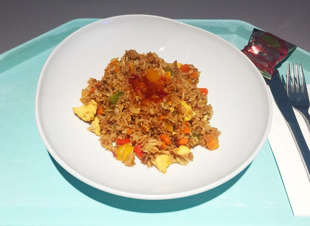 Fried egg rice / Gebratener Eierreis