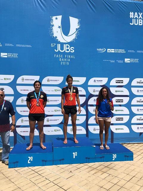 Marcia Santos bronze no JUBS