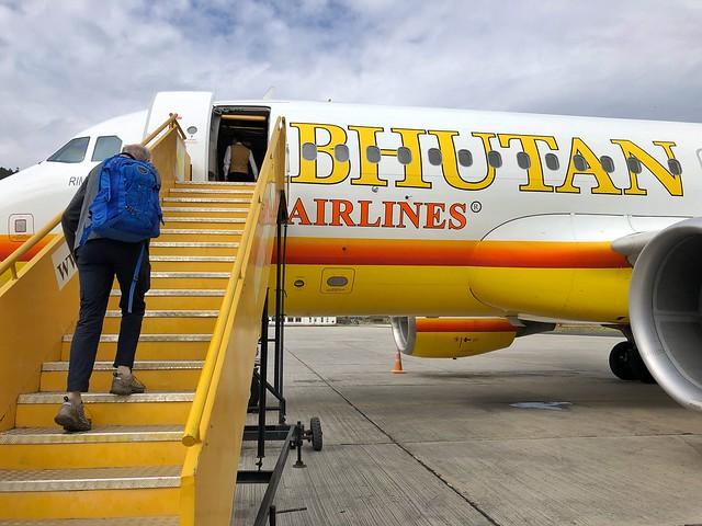 Bhutan Airlines, una de las dos aerolíneas que operan en Bután