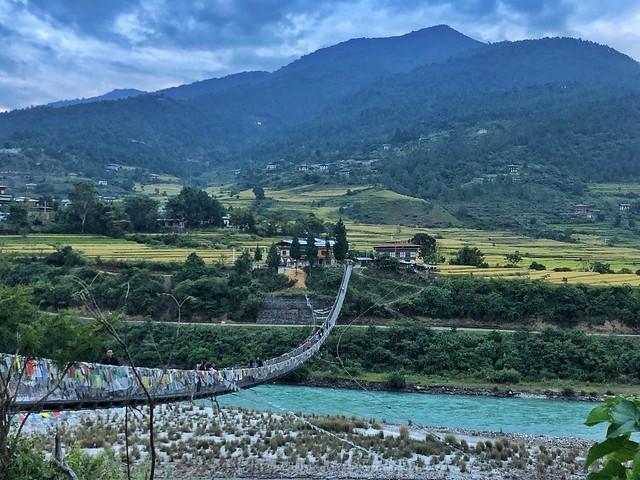 Río de Bután