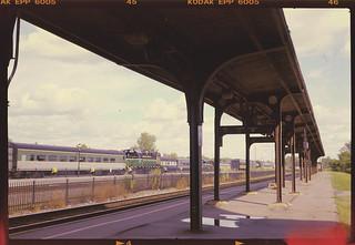 Utica (NY) train station