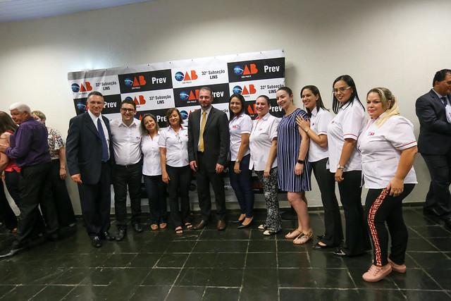 30.10.2019 - Entrega de Carteira Subseção OAB Lins