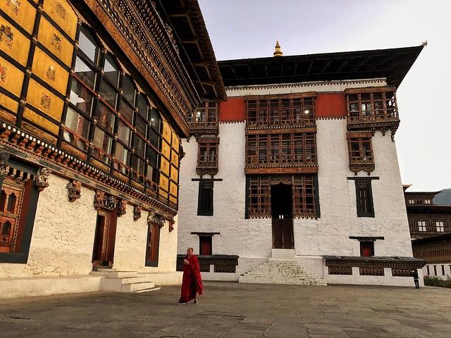 Dzong de Paro en Bután