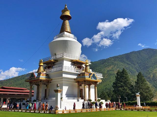 Memorial Chorten de Thimpu en Bután