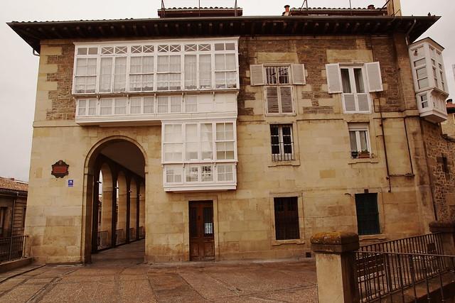 Vitoria-Gasteiz - typical architecture