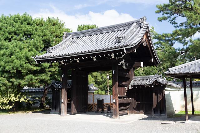 Sakaimachi-Gomon Gate @ Kyoto Gyoen