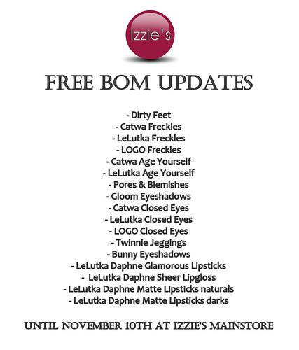Free BOM Updates