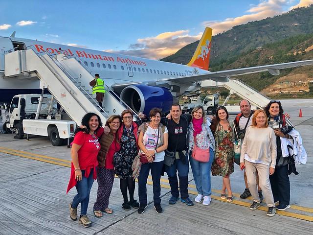 Recién aterrizados en Bután