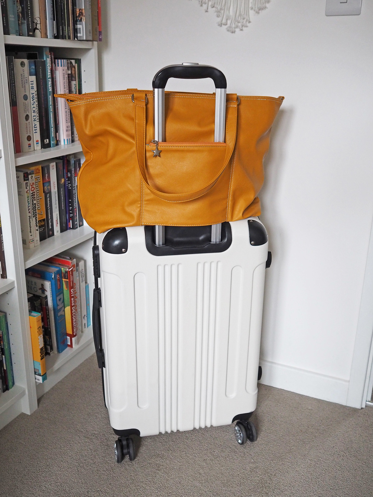 An Ingenious Travel Hand Luggage Bag That Lets You Go Hands-Free: The Mia Tui Jennie Bag | Not Dressed As Lamb, Over 40 Style Blog