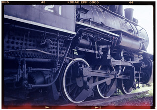 36 NEW YORK CENTRAL 0-6-0 type Steam Locomotive, 6721, Utica, NY