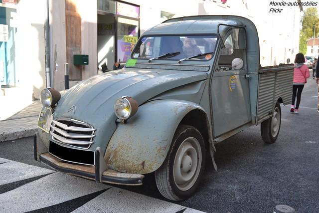 Citroën 2cv AK 350 Pick-Up