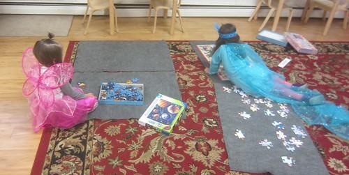 puzzle work
