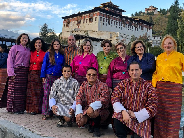He aquí mi Equipo Yeti en Paro (Bután)