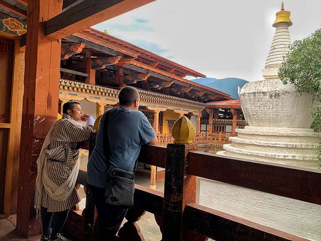 Sele y Mandohj en Punakha (Bután)