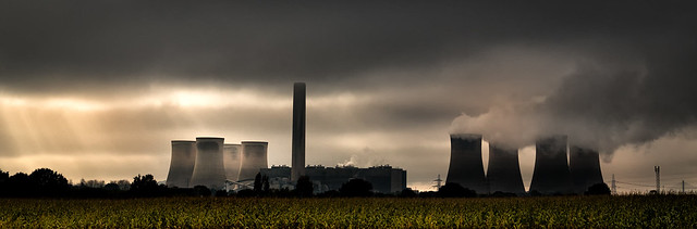 Fiddlers Ferry Power Station.