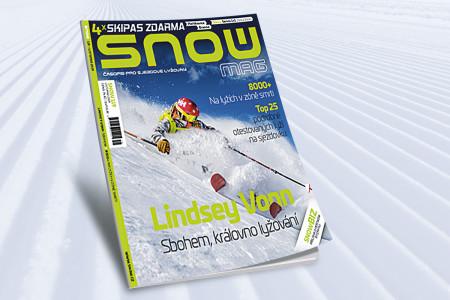 SNOW 119 - listopad 2019: loučení s Lindsey Vonn, hledání lyžařského bodu G + 4x skipas zdarma