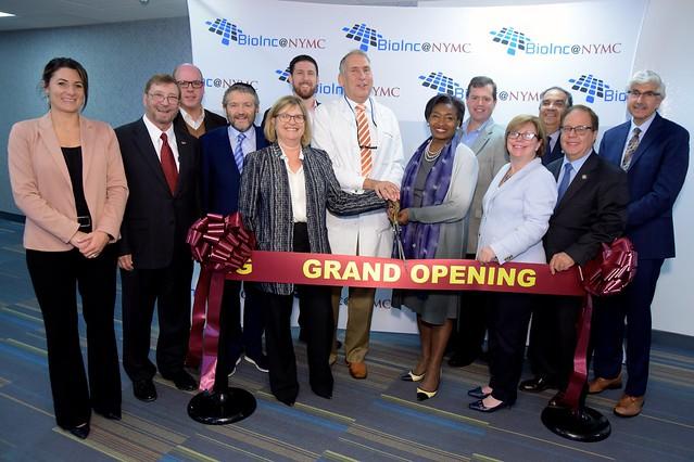 BioInc@NYMC Five-Year Anniversary and Expansion Ribbon Cutting