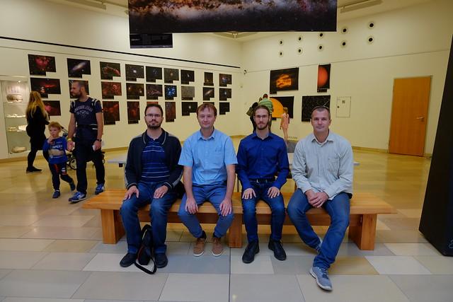 VCSE - Csillag-képek 2019 kiállítás Budapesten a Természettudományi Múzeumban - Ágoston Zsolt fotója