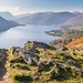 Ullswater from the viewpoint near the Memorial Seat