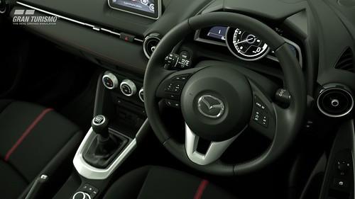 Mazda Demio XD Touring Cockpit