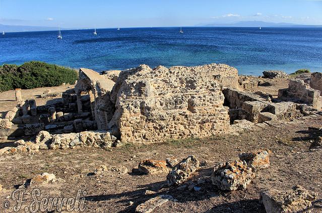 Rovine di Tharros sul mare di Capo San Marco – Penisola del Sinis (Cabras)