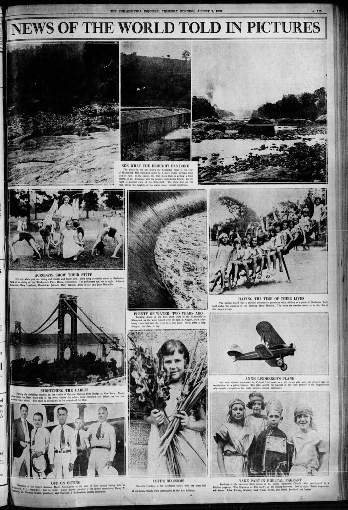 1930 Drought - Schuylkill