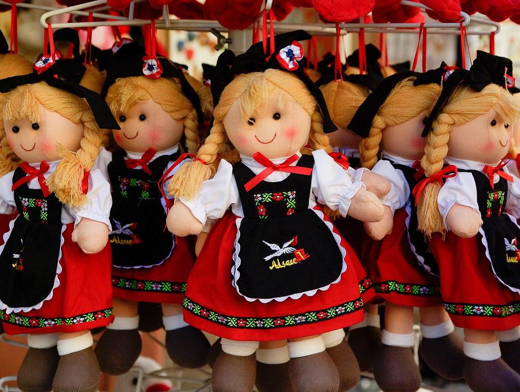 Vestido tradicional de Alsacia