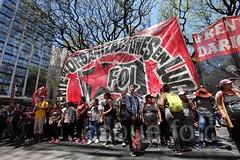 marcha en oficina del FMI / 8