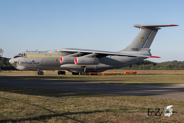 76683 Ukrainian Air Force Ilyushin IL-76MD