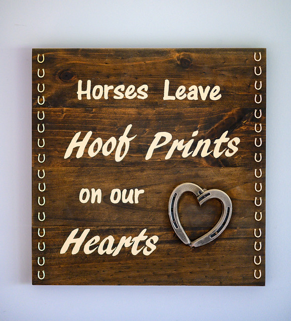 Horses leave hoof prints on our hearts