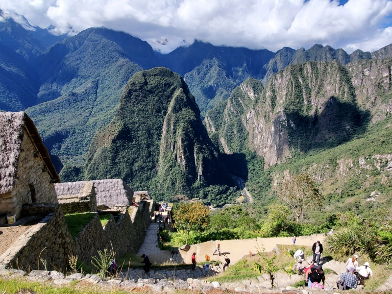 Machu Picchu mountains