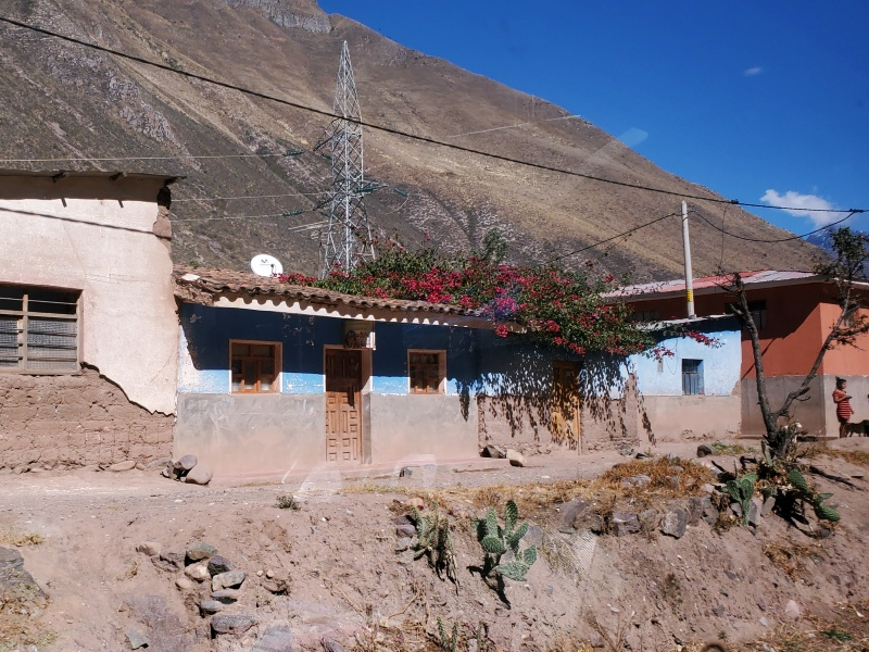 Sacred Valley route