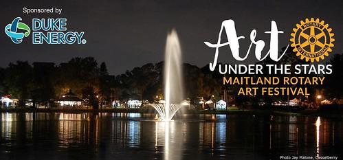 "Maitland Rotary's ""Art Under the Stars"""