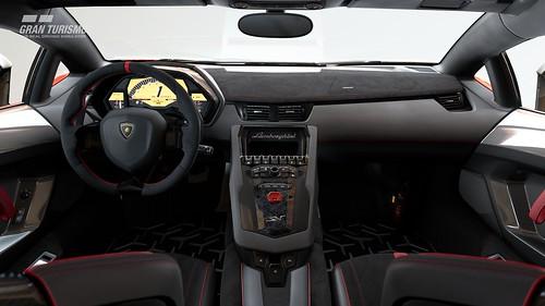 Lamborghini Aventador LP 750-4 Superveloce Cockpit