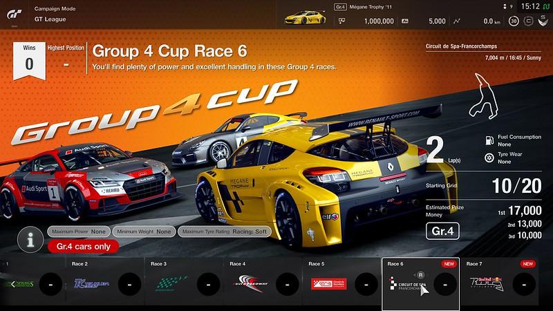 GT League race events