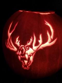 Wendigo pumpkin
