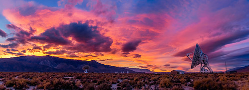 Sunset Panorama of The Owens Valley Radio Observatory (OVRO) | by RS2Photography