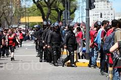 marcha en oficina del FMI / 11