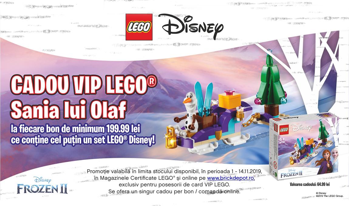 Cadou pentru clientii VIP: LEGO® 40361 – Sania lui Olaf