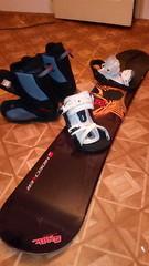 Snowboard set Nidecker - titulní fotka